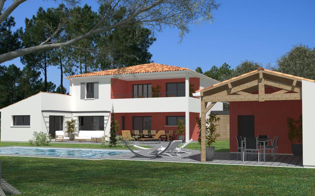 Projet maison à Saint Georges des Côteaux