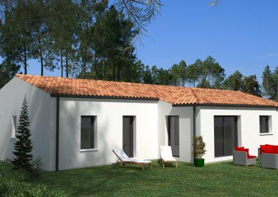 Projet maison à Chaniers