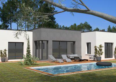Projet maison au Douhet